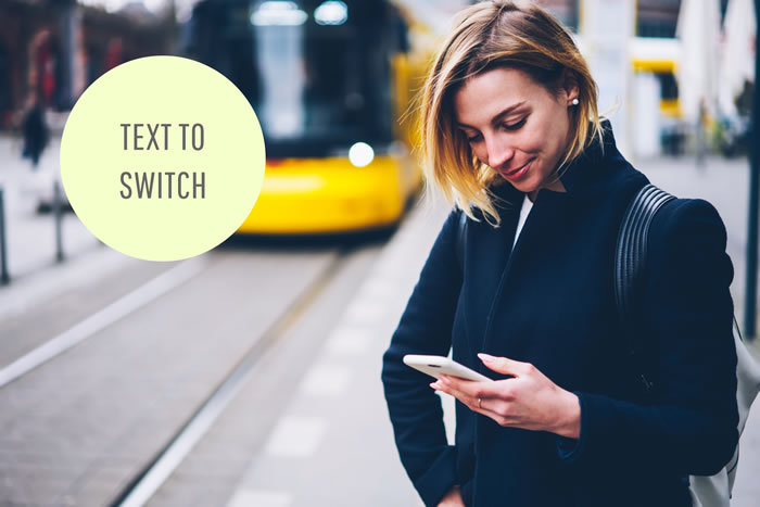 Text to Switch