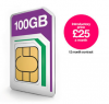 100GB of data for just £25