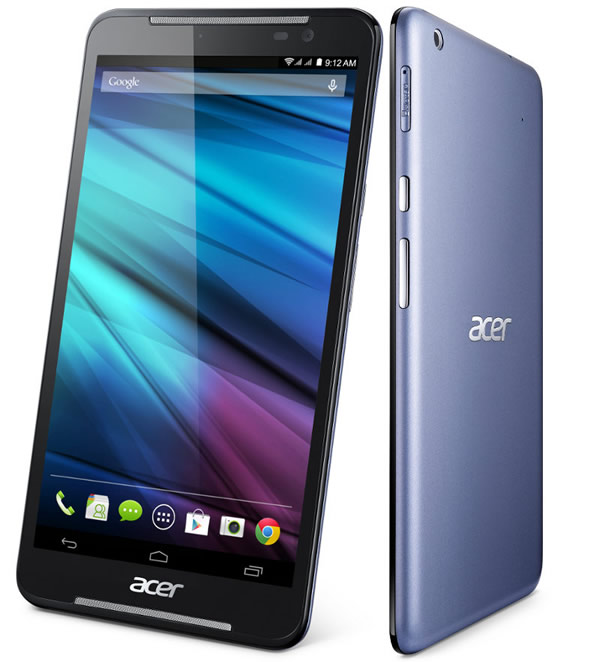 The Acer Iconia Talk S brings 4G LTE to the party with speeds of up to 150Mbps and it even doubles as a phone.