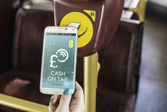 EE now offers contactless mobile payments on London buses