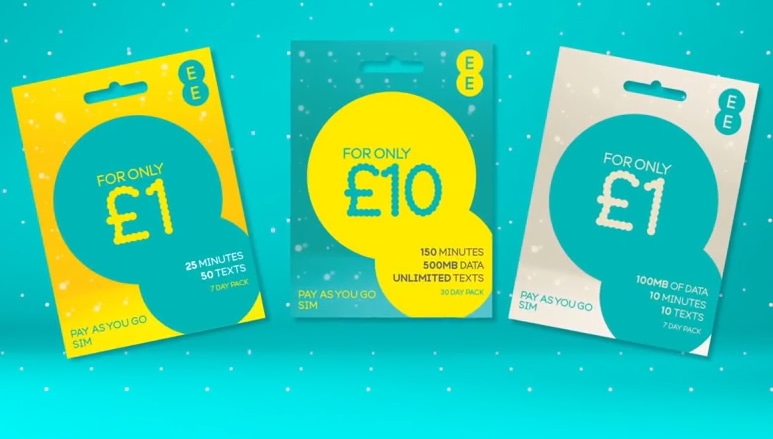 EE's pay as you go packs are versatile and get better over time, helping you stretch your credit further.