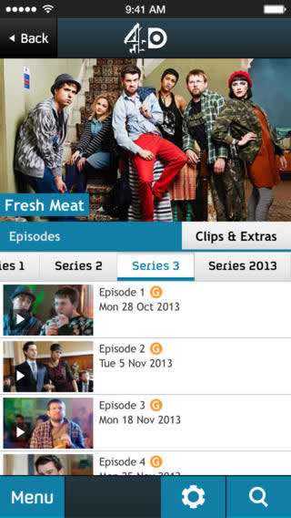 4oD for iOS now supports 4G and 3G streaming
