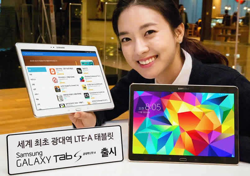 The Galaxy Tab S 10.5 is getting a superfast LTE-A upgrade making it better than ever.