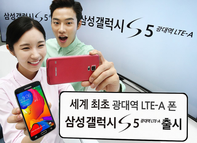 Samsung Galaxy S5 Goes 4G-LTE Advanced