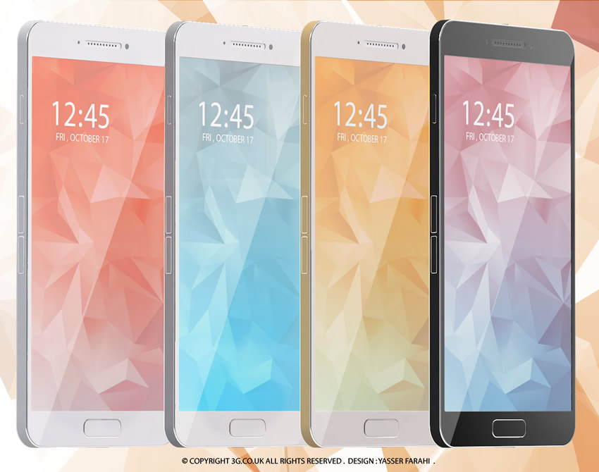 Samsung Galaxy S6 – A 4G concept with pictures and video