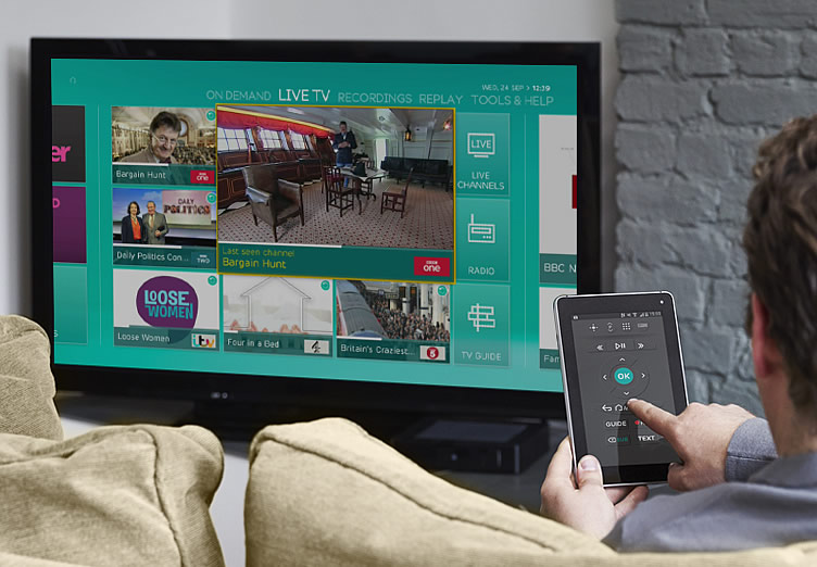 EE announces its innovative new TV service- EE TV